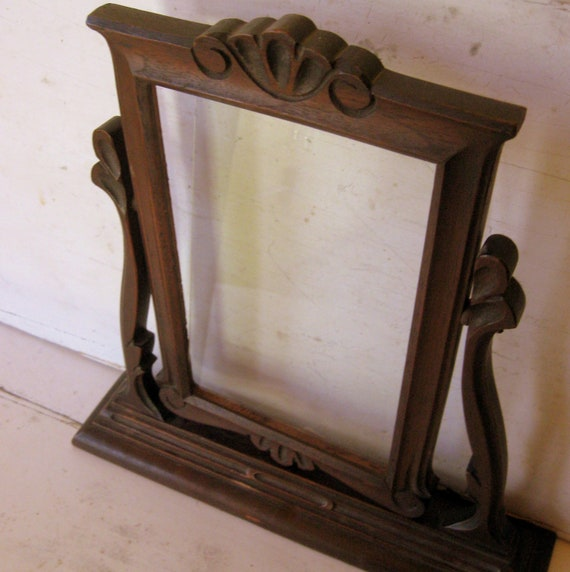 Antique Swivel Frame in Teak Wood