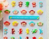 PVC Stickers (P164.09 - Monkey)