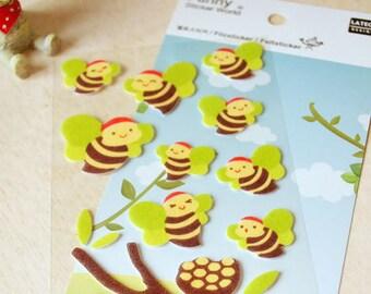 Felt Stickers (P163.14 - Bee)