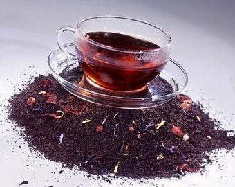 Tea Teabags 50 Blueberry Hand Blended black tea in teabags
