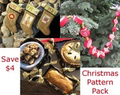 3 Pack Christmas Sewing Pattern PDF Bundle