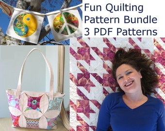 Fun Quilting Sewing Pattern Pack