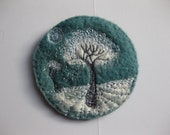 Art Embroidery Landscape