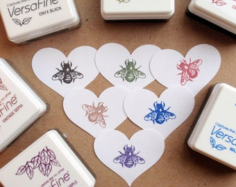 Ink Pad - Versafine by Tsukineko - Size Small  - The BEST ink for Detailed Rubber Stamps says Blossom Stamps
