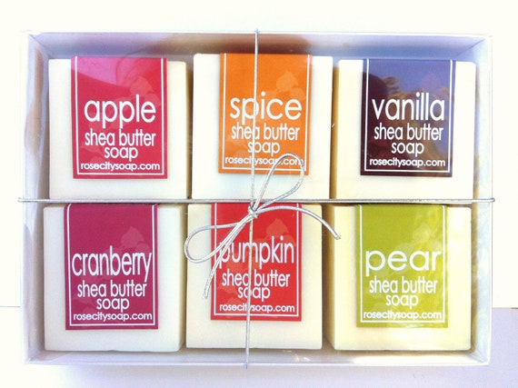 Fall Harvest Shea Butter Soap Set