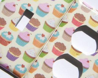 Cupcake Light Switch Cover and Outlet Cover