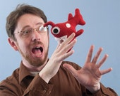 Mini Angler Fish Plush - Red or Pick Your Own Color