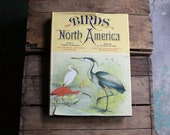 The Birds of North America vintage 1970s illustrated guide