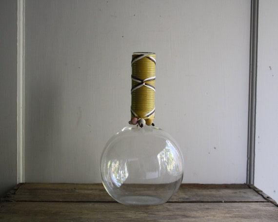 vintage pyrex weico glass carafe decanter