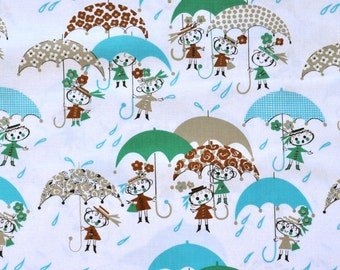 ON SALE - April Showers by Alexander Henry - Blue - by the half yard