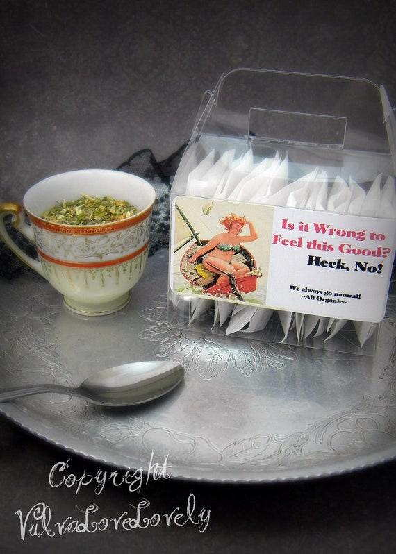 Cramp Relief- Kick it to Your Menstrual Cramps: 30 bags Organic Tea