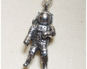 Astronaut, pewter space man, miniature