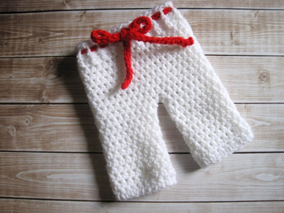 Crochet Pants : Crochet Baby Pants, Baby Longies, Newborn Pants Infant, Crochet Baby ...