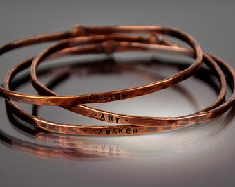 You Can Say That Again - Copper Bracelet - CB&CO - Handcrafted
