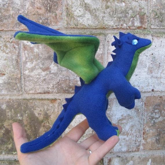 Salal the Mini Stuffed Dragon - Reserved for Becca