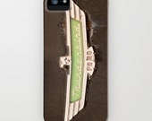 Thunderbird iPhone 5 Case, iPhone 5, vintage car, 1955, case for iPhone 5, Polaroid, iPhone accessory