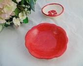 Poppy Red Mini Bowl