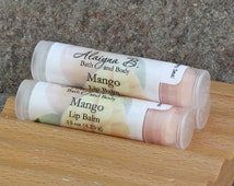 Mango Lip Balm with Cocoa and Mango Butter