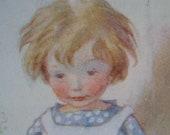 Framed Vintage Children's Illustration Print by Honor Charlotte Appleton 1930s