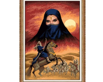 Cross Stitch/ Needlepoint Kit - Sahara