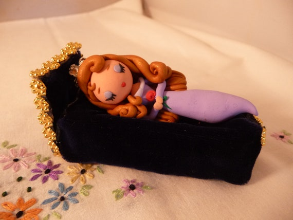 Custom Order for Kasey Sleeping Beauty Miniature