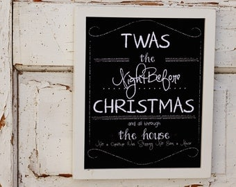 The Night Before Christmas Print