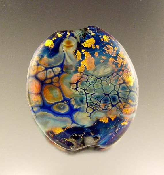 Fire Within, Lampwork Focal by Linda -tt- SRA