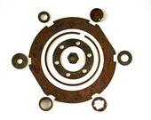 Circle Up - Vintage Rusty Parts, Steampunk