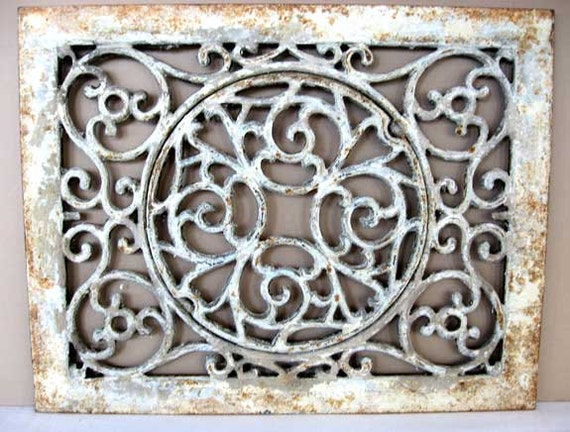 Antique Victorian Decorative Rectangular By