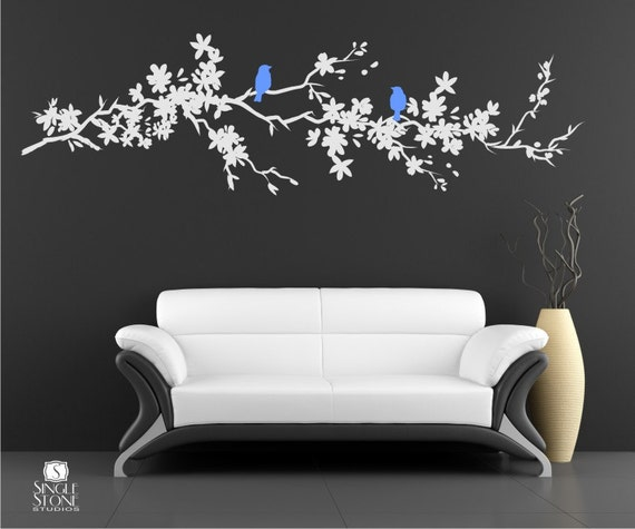 Tree Branch Wall Decal Nature's Longing Vinyl Art