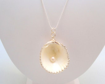 Sea Shell By The Seashore Necklace Beach Destination Wedding