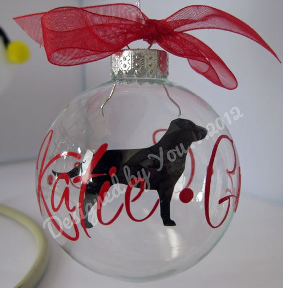how to make clear ornaments without vinyal