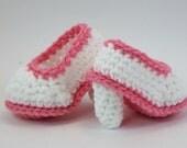Baby High Heels Crochet NEWBORN Baby Booties Shoes