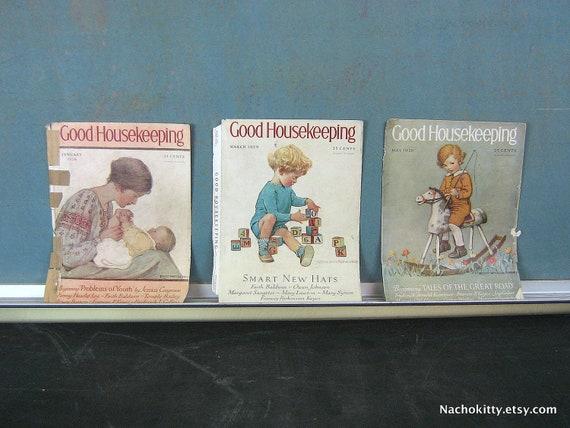 1920s Baby Art Illustrations by Jessie Willcox Smith, Nursery Decorations