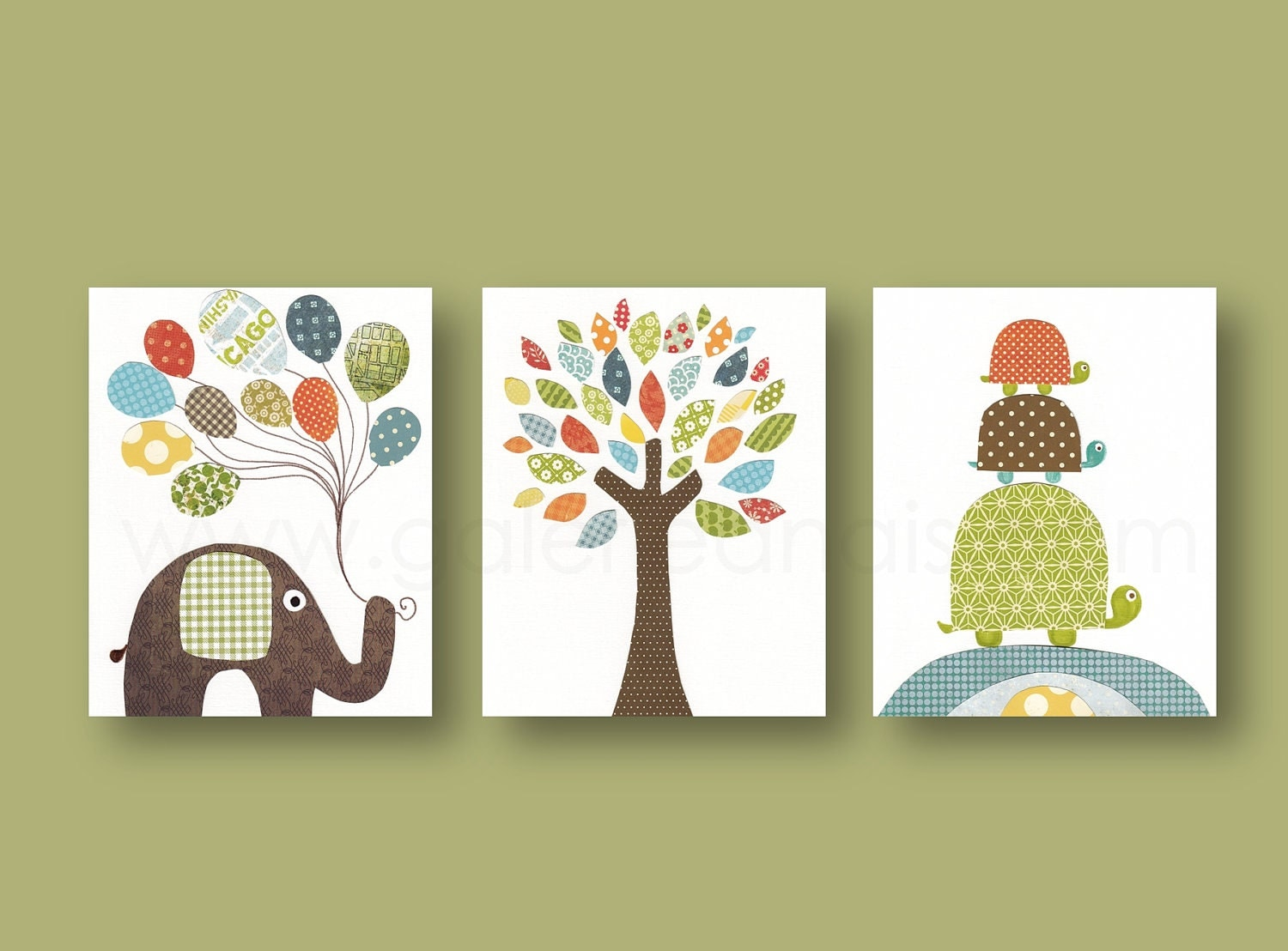 Nursery art prints baby boy nursery decor nursery wall art for Boys wall art
