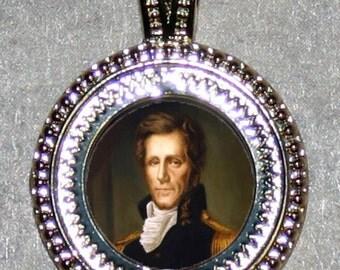Andrew Jackson Frame Pendant