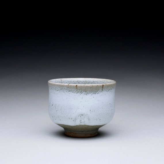 cup - espresso cup - teacup with green celadon and white glazes