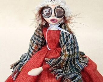 Cousin Clara - 1840's Victorian Art Doll