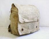 Big Vintage Boy Scouts Backpack Knapsack