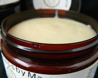 Patchouli Shave Soap in a Travel Container