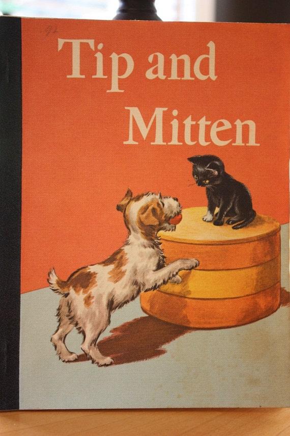 Vintage Tip and Mitten Children's Book