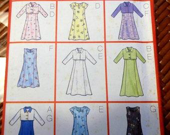 Pattern - Girls Jacket and Dress - Size 12 - 16