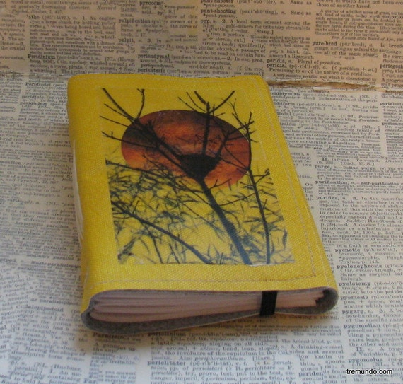nested thoughts tri fold Journal by BlueToad Journals of Tremundo