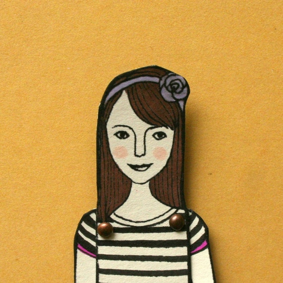 RESERVED FOR JESSICA custom paper doll