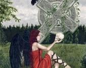Lady Death 8.5 x 11 print