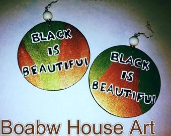 Black is Beautiful Earrings