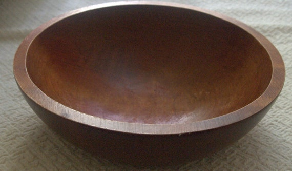 Medium Size Quality Handcrafted Wooden Salad Bowl By Baribocraft Canada