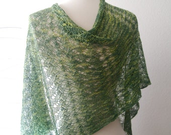Knitting Pattern PDF / Terrace Wrap