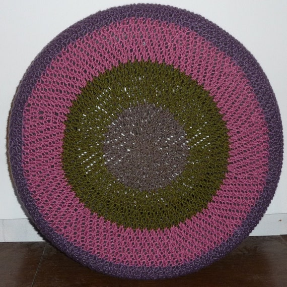 Twisted Stitch Crochet Spare Tire Cover