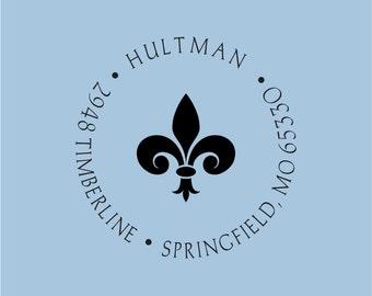Custom Return Address Self Inking Stamp Hultman Design R400-010